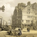 High St from Head of West Bow, Lawnmarket, Edinburgh