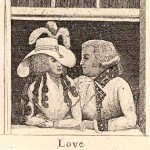 Lovers, Captain Dalrymple and Miss MacDonald