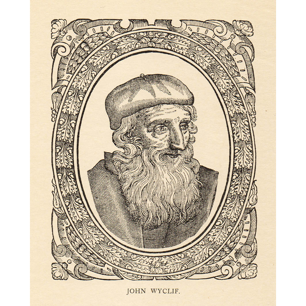 John Wycliffe, reformer and translator (1328-1384)