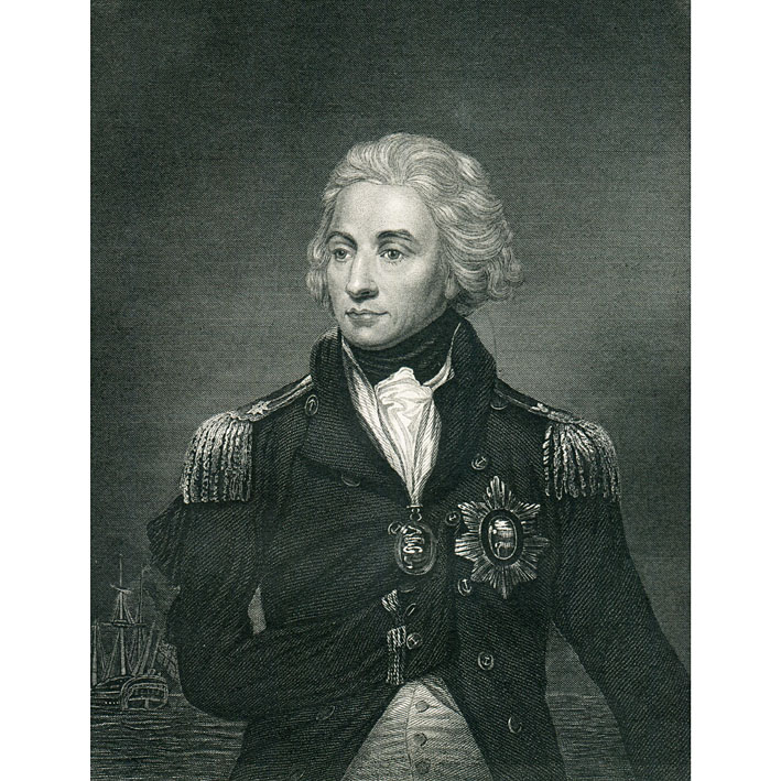 Vice Admiral Horatio Nelson 1st Viscount Duke Of Bronte 1758 1805