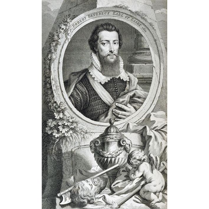 what was the relationship between elizabeth and robert devereux